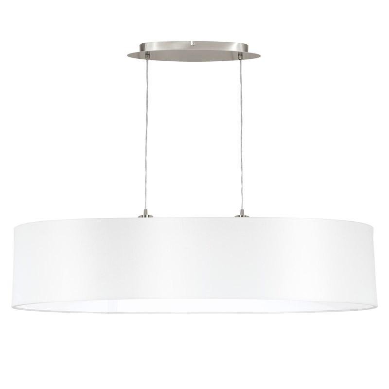 Eglo 31615 MASERLO Hanglamp Staal/textiel 2X60W/E27