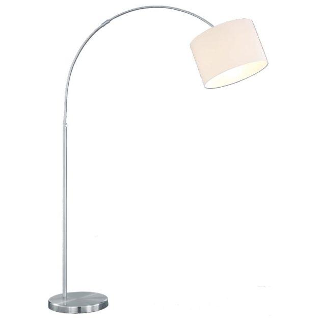 Vloerlamp 461100101 Booglamp+Kap Creme