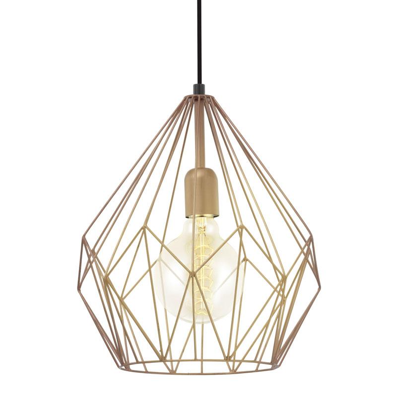 Eglo 49258 CARLTON Hanglamp Koper - Breman Verlichting
