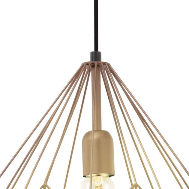 Eglo 49258 CARLTON Hanglamp Koper 1X60W/E27