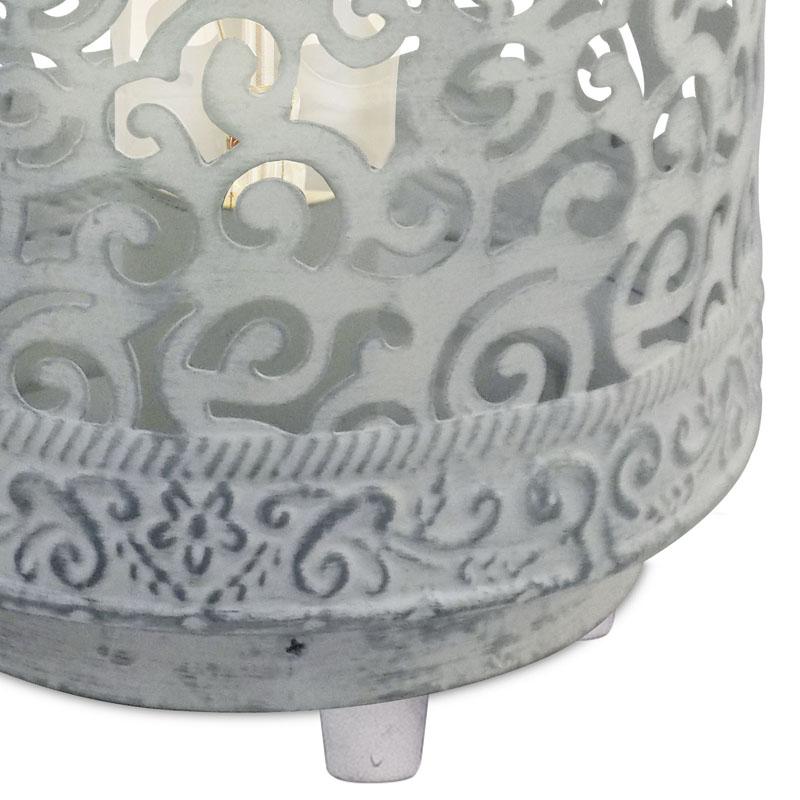 Eglo 49275 TALBOT Tafellamp Grijs 1X60WE27