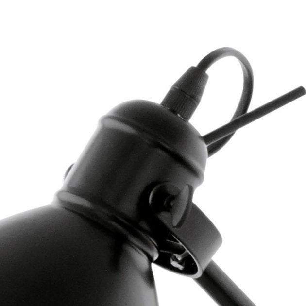 Eglo 49471 PRIDDY Vloerlamp Zwart Wit 1X40W/E27