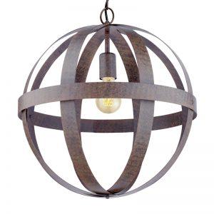 Eglo 49476 WESTBURY Hanglamp Roestbruin