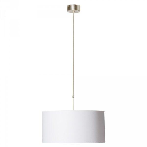 Bekend Steinhauer Hanglamp Stresa 9608 staal kap effen wit - Koop Nu! XC36