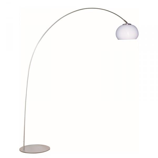 Steinhauer Vloerlamp Booglamp Lilac 9660 staal kap kunststof klein
