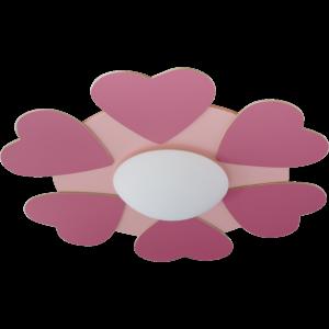 Steinhauer Kinderlamp / Plafondlamp 6146 roze