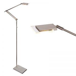 Steinhauer Vloerlamp Marjoletii LED 7084 staal