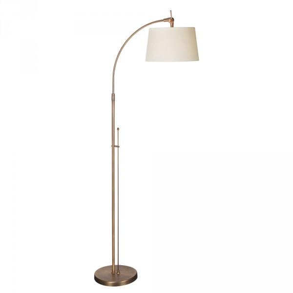 Steinhauer Vloerlamp Gramineus 9564 brons kap crèŠme mat