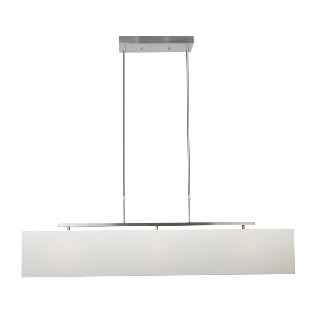 Bekend Steinhauer Hanglamp Louis 9648 staal kap linnen wit - Koop Nu! NX48