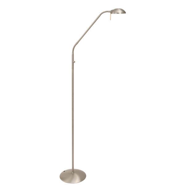 Steinhauer Vloerlamp LED Mexlite 7501ST staal