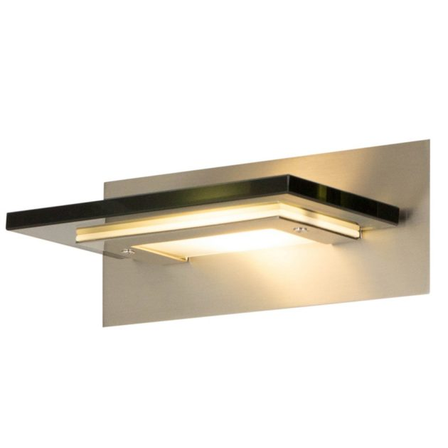 Steinhauer Wandlamp LED Humilus 7543ST donker glas
