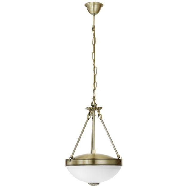 Eglo 82747 SAVOY Hanglamp Brons glas 2X60W/E27