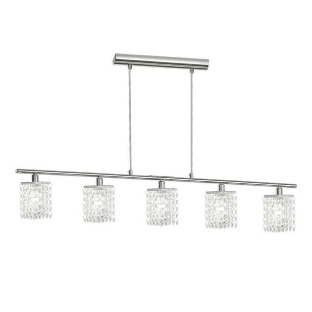 Eglo 85331 PYTON Hanglamp Chroom/kristal