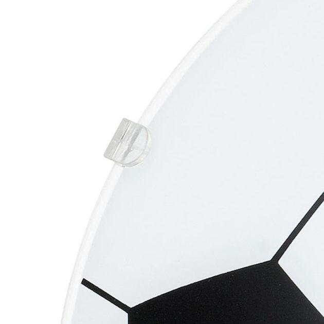 Eglo 87284 JUNIOR 1 plafondlamp Wit/gesatineerd glas 1X60W/E27