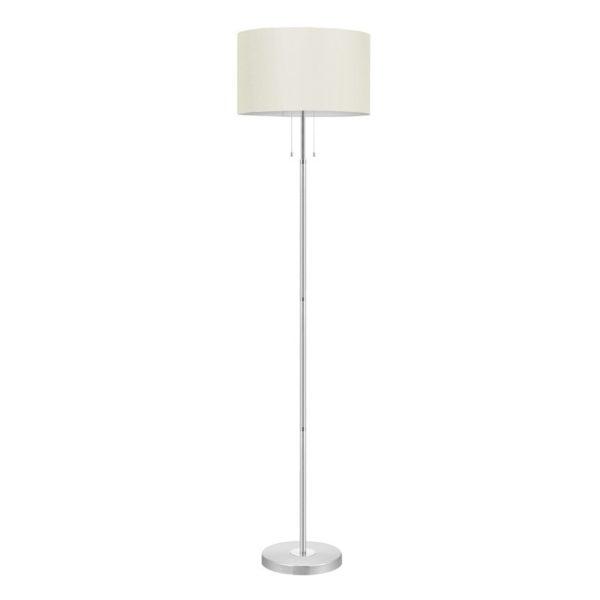 Eglo 88566 HALVA Vloerlamp Aluminium Chroom/textiel 3X60W;1X100W/E27
