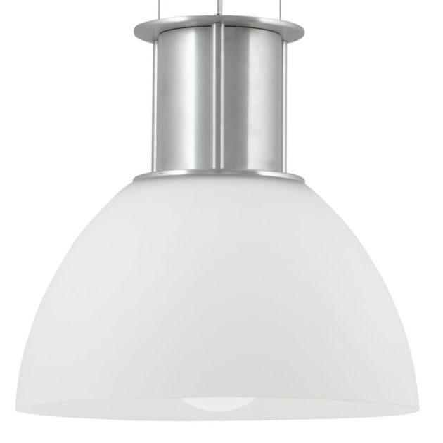 Eglo 89481 ANDRIA Hanglamp Aluminium/ge‰ëtst glas 1X60W/E27