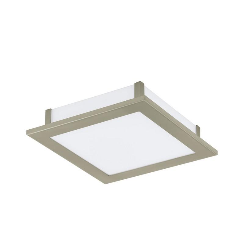 Eglo 91683 LED AURIGA plafondlamp Staal/Kunststof glas 18W/LED
