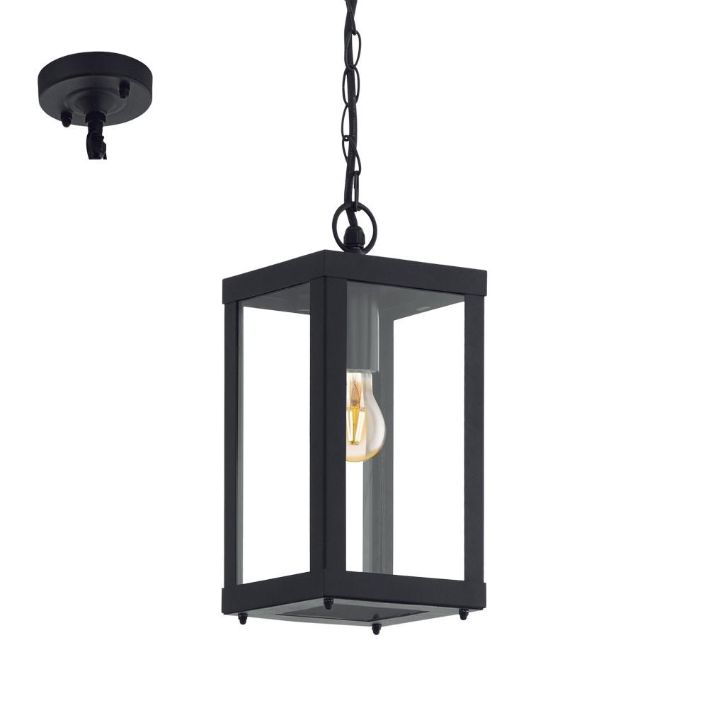 eglo 94788 alamonte 1 hanglamp zwart 60w e27 breman. Black Bedroom Furniture Sets. Home Design Ideas