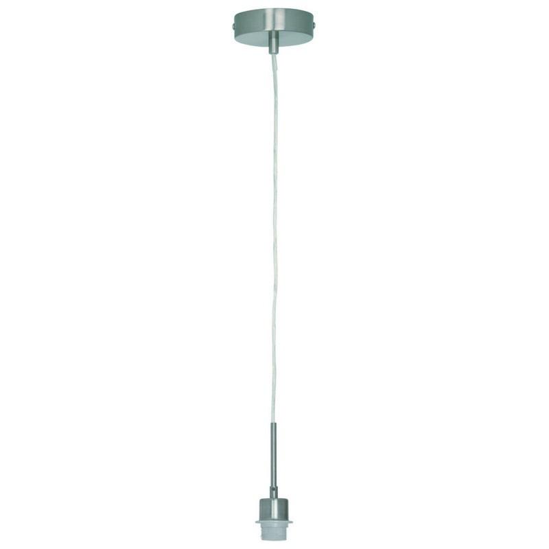 Bekend Freelight Hanglamp H8001S Pendel armatuur Rond 11cm Staal E27 SN84