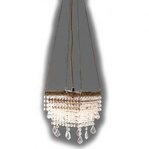 Hanglamp heldere kristallen