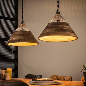 Houten lampen