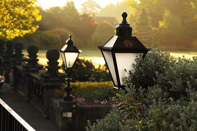 Klassieke tuinverlichting