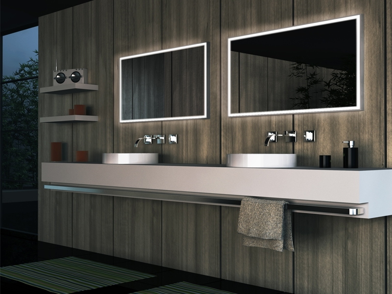 Douche Open Space Lapeyre ~ Goede badkamer verlichting  Breman Verlichting