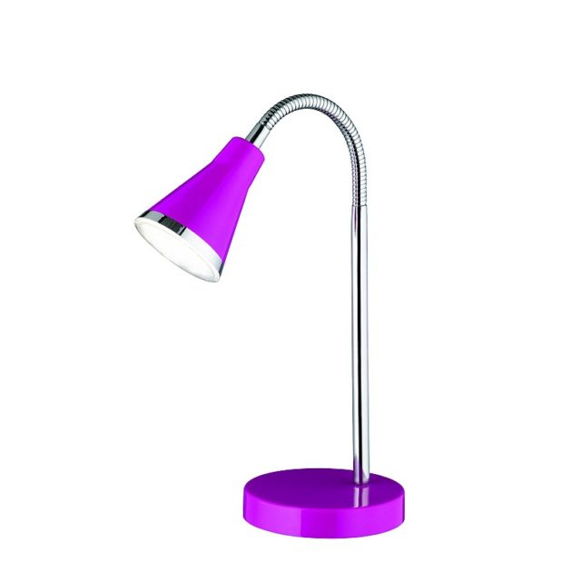 Tafellamp R52711193 Bureaulamp LED Paars