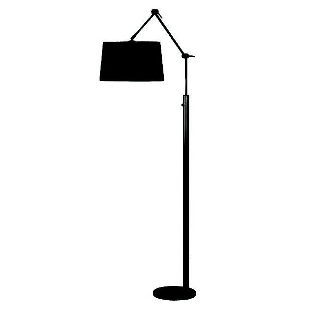 Vloerlamp V442130 Magna 75W z.kap Staal