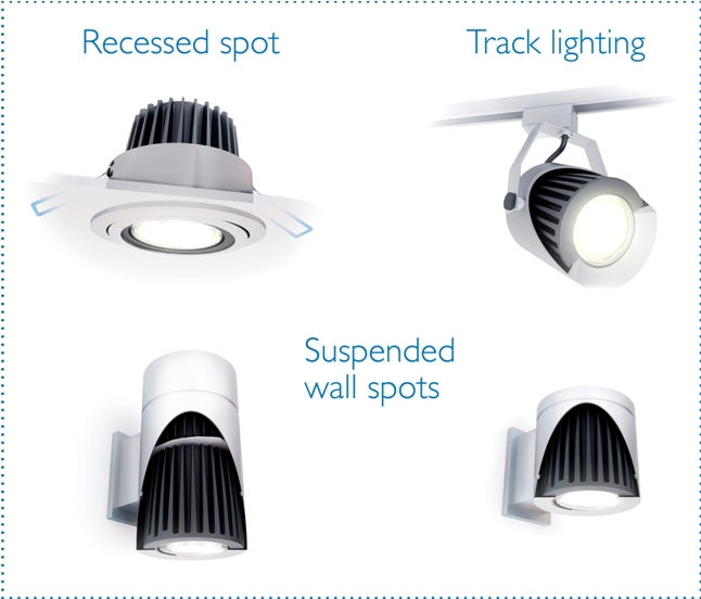 Philips Fortimo LED spots