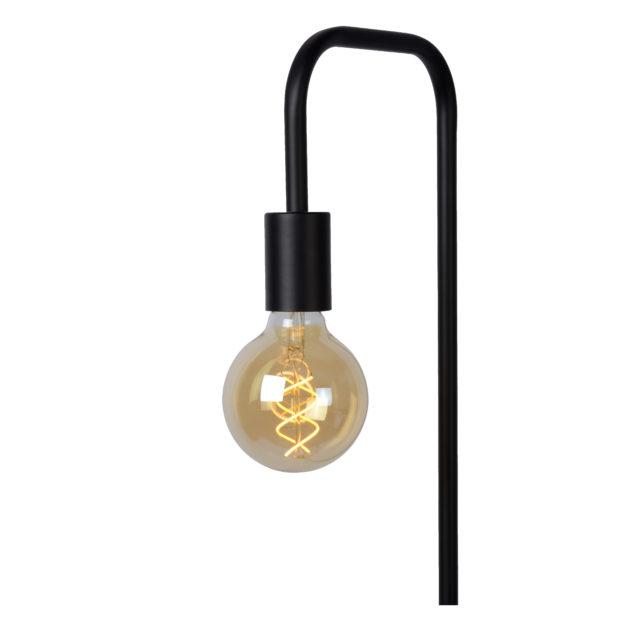 Lucide LORIN Vloerlamp E27 Zwart