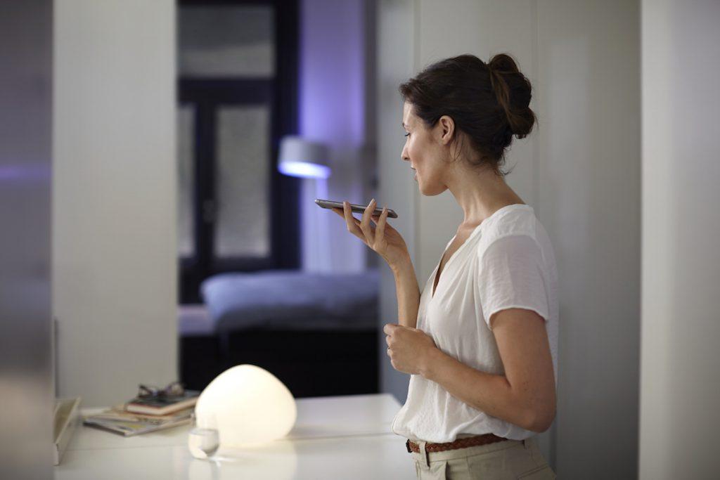 praten met lampen