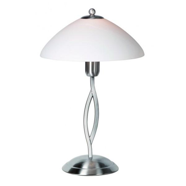 Steinhauer Tafellamp Capri 6842 staal
