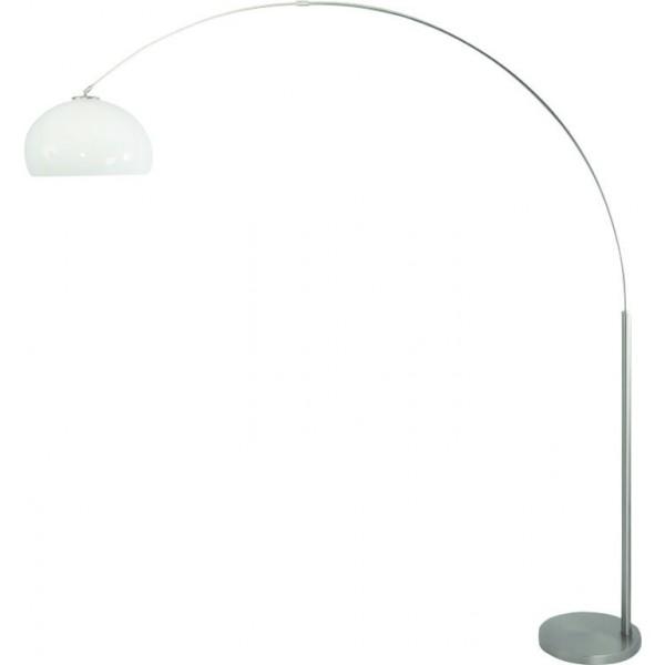 Steinhauer Vloerlamp Lilac 9663 staal kap kunststof groot