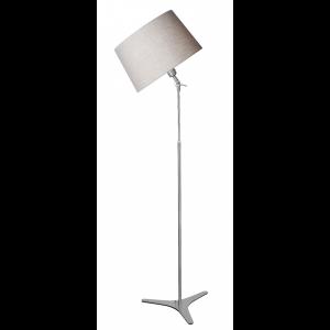 Steinhauer Vloerlamp Gramineus 9527 staal grijze kap